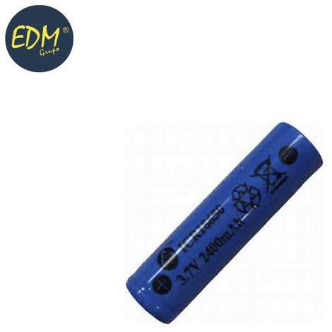 Pila recargable 3,7 volts 2300 mah (recambio 36100) mod 18650 litio