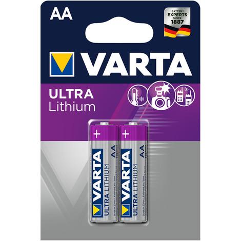 Pila Varta Ultra Lithium Lr03 Aaa Pack 4 Unidades