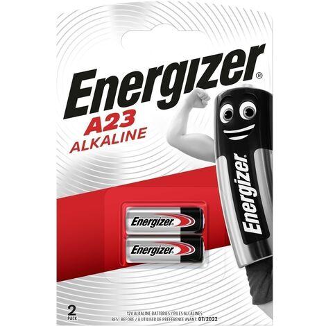 Pilas Alcalinas Energizer 12V (A23) Pack 2 unidades