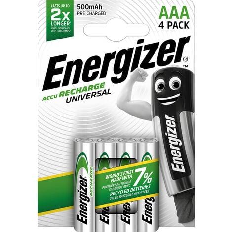 "main image of ""Pilas recargables Energizer Universal 500 mAh HR03 Pack 4 unidades"""