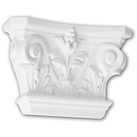 Pilaster Capital 121001 Profhome Decorative Element Corinthian style white