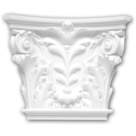 Pilaster Capital 121002 Profhome Decorative Element Corinthian style white