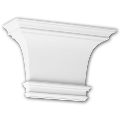 Pilaster Capital 121003 Profhome Decorative Element Doric style white
