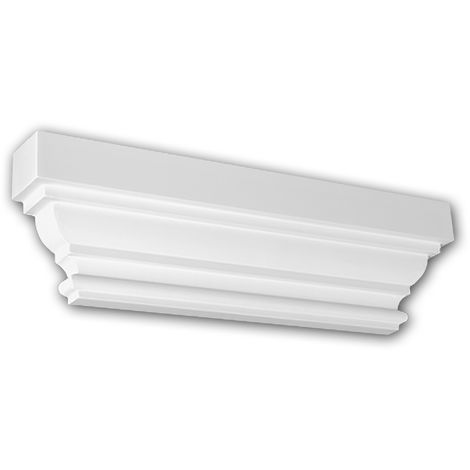 Pilaster Capital 121005 Profhome Decorative Element Doric style white