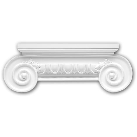 Pilaster Capital 121006 Profhome Decorative Element Ionic style white