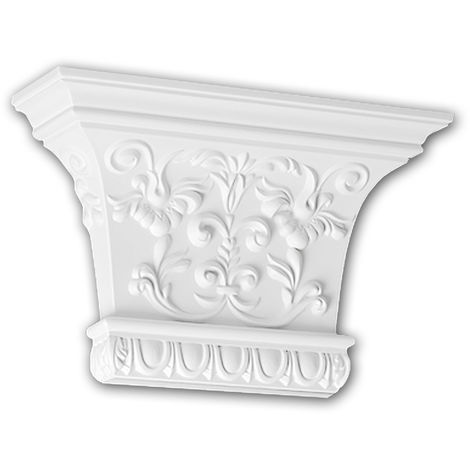 Pilaster Capital 121007 Profhome Decorative Element Corinthian style white