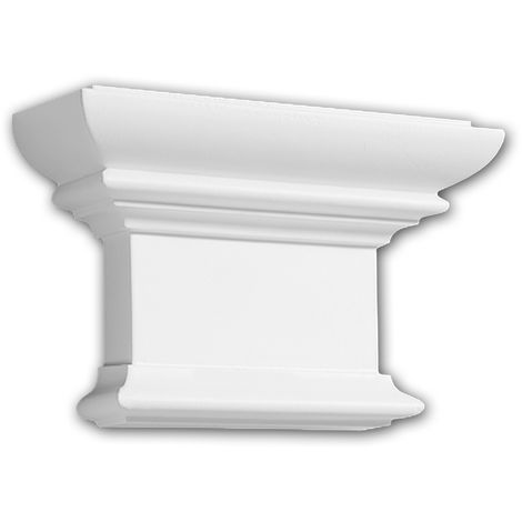 Pilaster Capital 121008 Profhome Decorative Element Doric style white