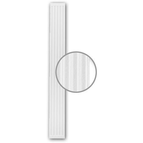 Pilaster Schaft PROFHOME 122200 Zierelement Neo-Klassizismus-Stil weiß