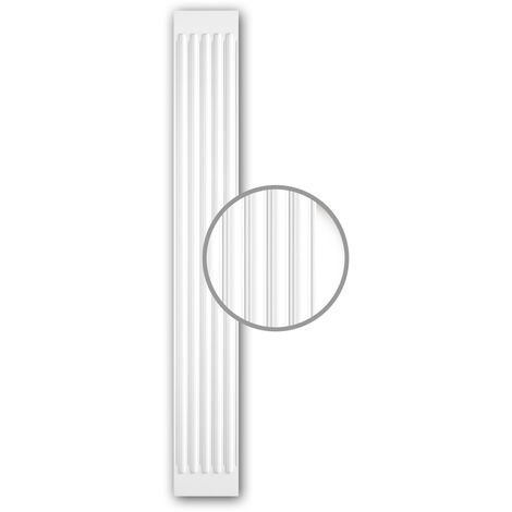 Pilaster Shaft 122020 Profhome Decorative Element Neo-Classicism style white