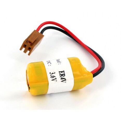 Pile 3.6V Lithium type Toshiba ER4V connecteur fanuc
