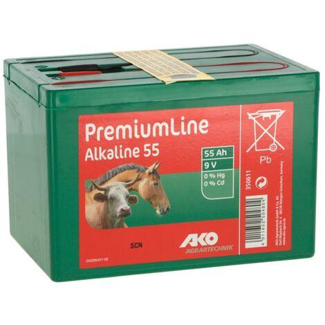 Pile alcaline 9V 175Ah - AKO