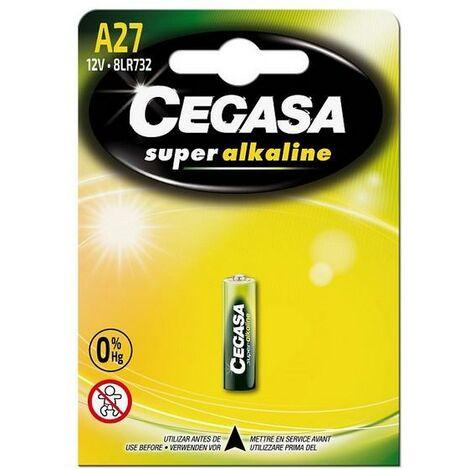 Pile Alcaline Cegasa A27 8LR732 12V
