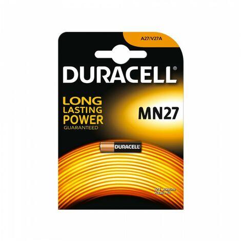 PILE ALCALINE DURACELL MN27 12V V27/A27A