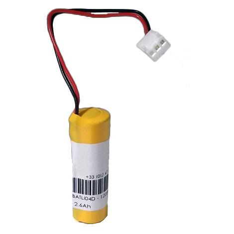 Pile Batli04 compatible 3.6V Lithium pour Alarme Daitem, logisty