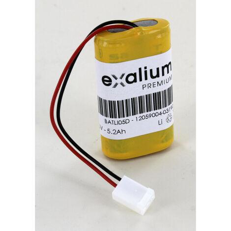 Pile Batli05 compatible 3.6V Lithium pour Alarme