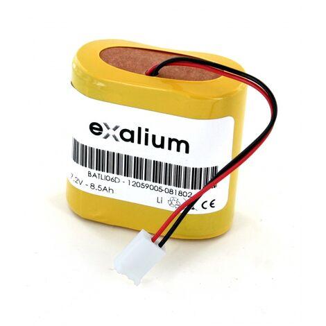 Pile Batli06 compatible 7.2V 8.5Ah Lithium pour Alarme