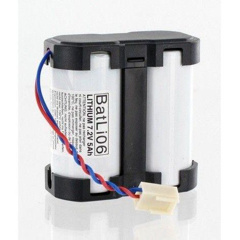 Pile Batli06 d'origine 7.2V 5Ah Lithium pour Alarme