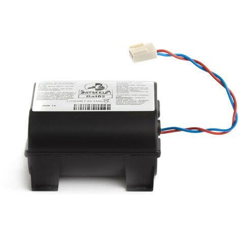 Pile Batterie Alarme BATLI02 Batsecur - Compatible DAITEM/LOGISTY avec coque - 7,2V - 13,0Ah