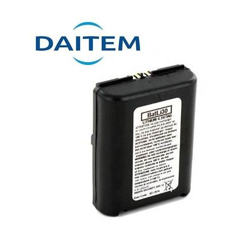 Pile Batterie Alarme DAITEM BATLI30 - Lithium - 4,5V - 3Ah