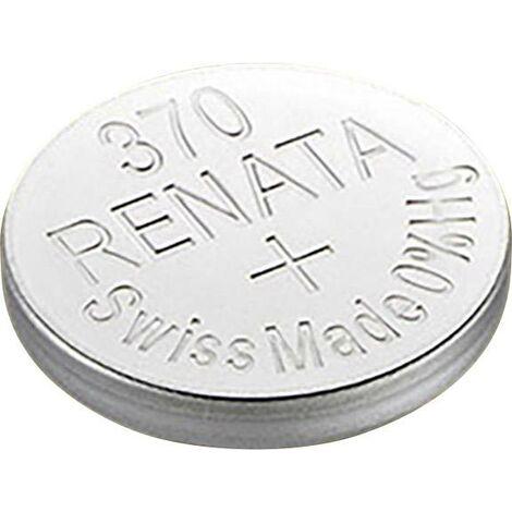 Pile bouton 370 oxyde d'argent Renata 40 mAh 1.55 V 1 pc(s) X37578