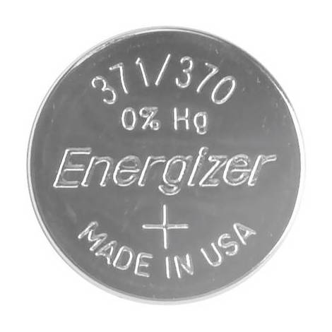 Pile bouton 371 oxyde dargent Energizer 34 mAh 1.55 V 1 pc(s)