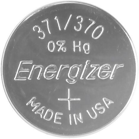 Pile bouton 371 oxyde d'argent Energizer 34 mAh 1.55 V 1 pc(s) Y764231