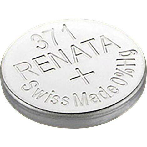 Pile bouton 371 oxyde d'argent Renata 35 mAh 1.55 V 1 pc(s) X92588