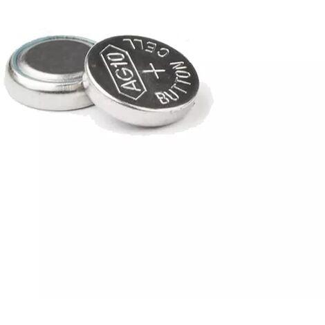 Pile bouton alcaline (AG10 LR54)