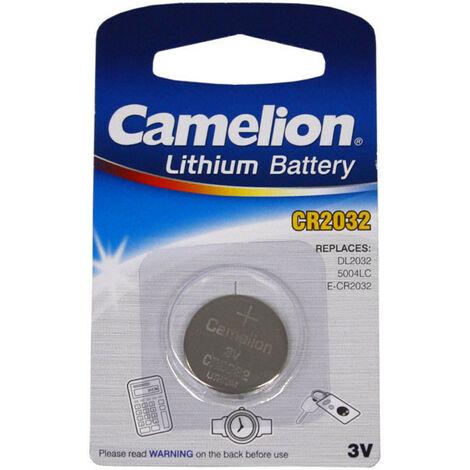 Pile bouton Camelion Lithium CR2032 (1 Pce) (13001032)