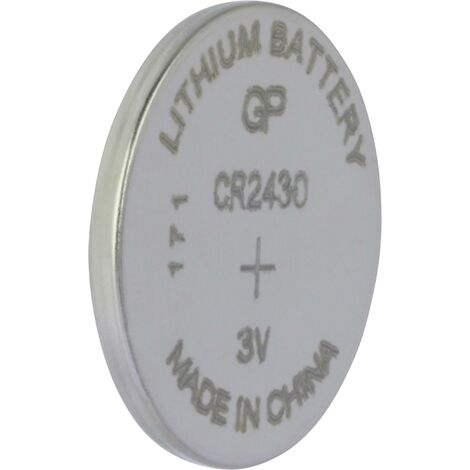 Pile bouton CR 2430 lithium GP Batteries 300 mAh 3 V 1 pc(s) S161461