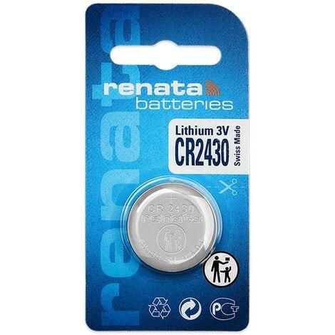 Pile bouton CR 2430 lithium Renata 285 mAh 3 V 1 pc(s) X95064