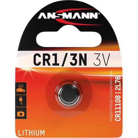 Pile bouton lithium CR 1/3 N Ansmann CR1110 1516-0097 3 V 1 pc(s) C410591