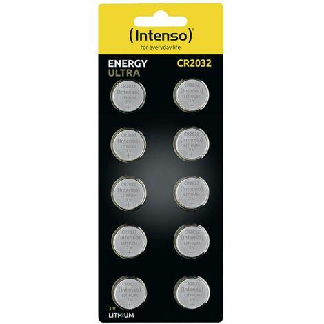 Pile bouton lithium CR 2032 Intenso Energy Ultra 7502430 220 mAh 3 V 10 pc(s)