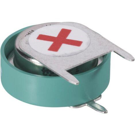 Pile bouton rechargeable NiMH 1.2 V Varta V40H-SLF ++/- 43 mAh 1 pc(s) A32138
