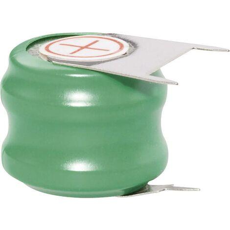 Pile bouton rechargeable NiMH 2.4 V Emmerich 60 H, SLF 80 mAh 1 pc(s) A39318
