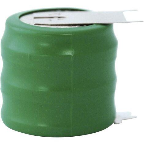 Pile bouton rechargeable NiMH 3.6 V Emmerich 250 H, SLF 300 mAh 1 pc(s) A39333