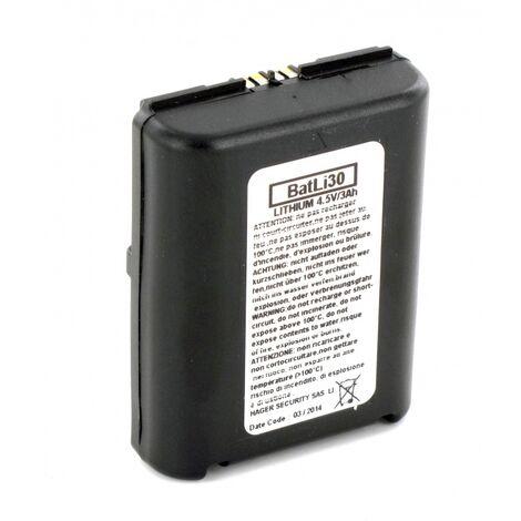 Pile Daitem Batli30 d'origine 4.5V 3Ah Lithium pour alarme