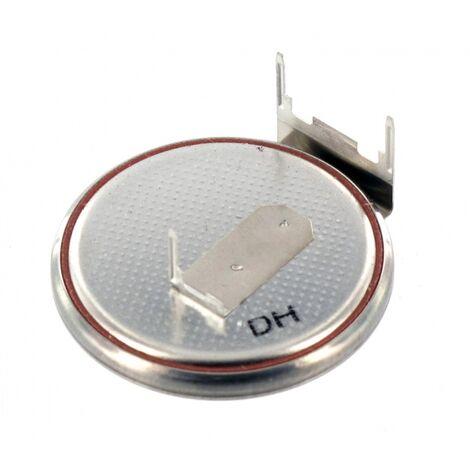 Pile lithium 3V CR2430RH + 3Picots horizontaux