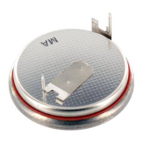 Pile lithium 3V CR2450FH + 2 picots horizontaux