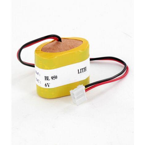 Pile Lithium BL950 6V 950mAh pour alarme