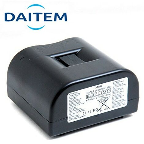 Pile Lithium DAITEM d'origine BATLI22 3.6V - 13Ah