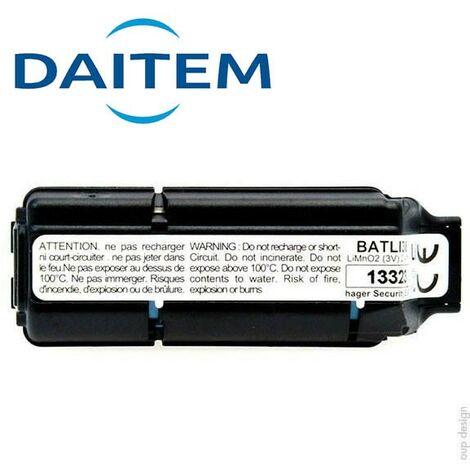 Pile Lithium DAITEM d'origine BATLI38 - 3.6V - 2.4Ah