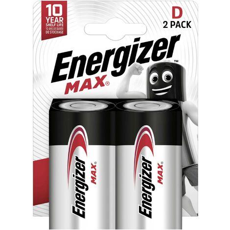 Pile LR20 (D) Energizer Max LR20 E301533400 alcaline(s) 1.5 V 2 pc(s) Y227831