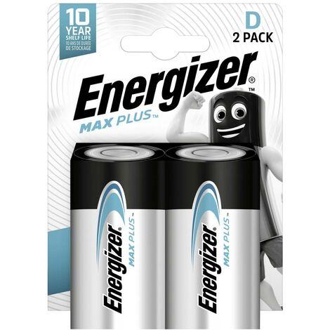 Pile LR20 (D) Energizer Max Plus E301323900 alcaline(s) 1.5 V 2 pc(s)