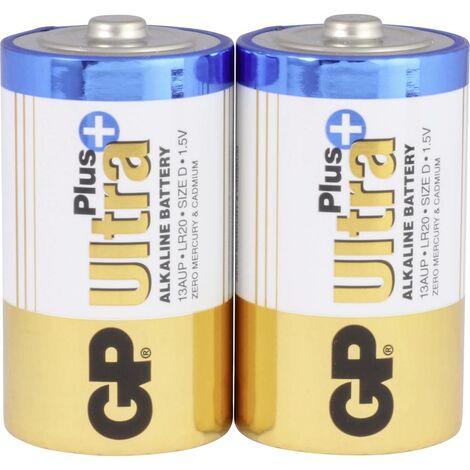 Pile LR20 (D) GP Batteries GP13AUP / LR20 03013AUP-U2 alcaline(s) 1.5 V 2 pc(s)