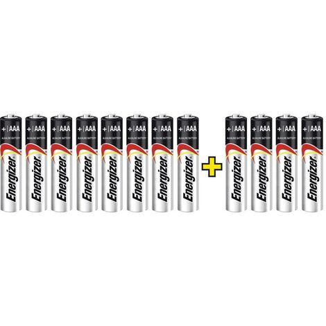 Pile LR3 (AAA) alcaline(s) Energizer Max LR03, 8+4 gratis 1.5 V 12 pc(s)