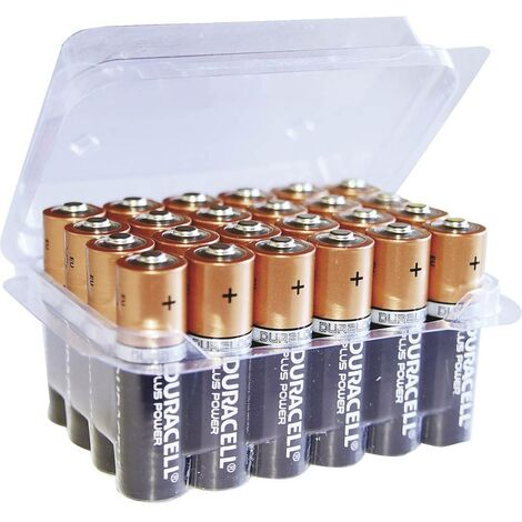 Pile LR6 (AA) alcaline(s) Duracell DUR8200B Plus Power LR06 Box 1.5 V 24 pc(s)