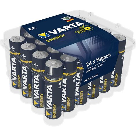 Pile LR6 (AA) alcaline(s) Varta 4106229224-24 Energy LR06 1.5 V 24 pc(s) X37076