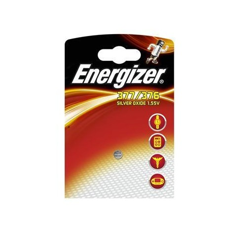 """main image of """"Pile montre 377/376 ENERGIZER Oxyde d'argent MBL1"""""""