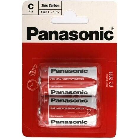 Pile Panasonic ecoli 4R25 6V Saline coque plastique